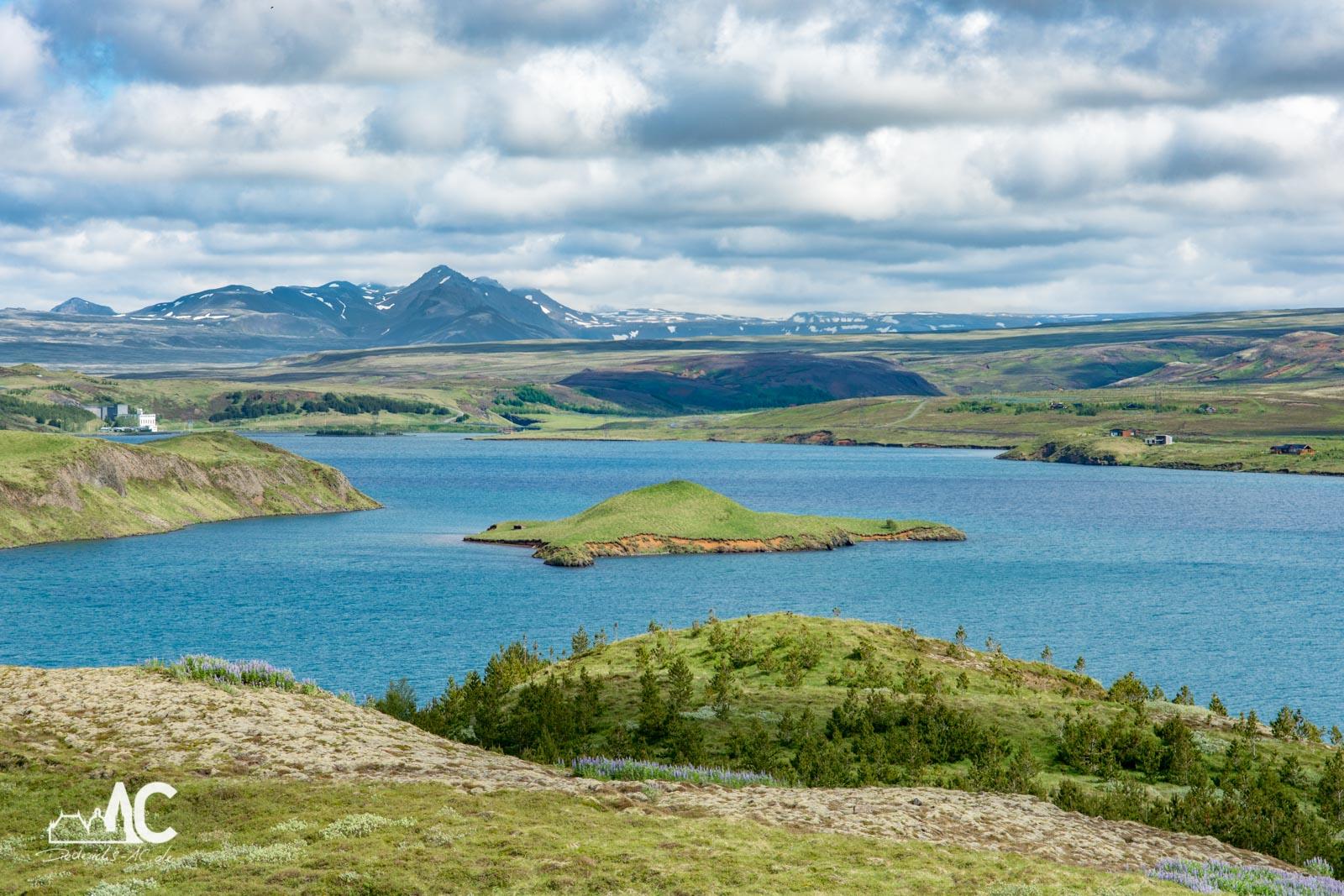 Panoramasicht über den Thingvallavatn